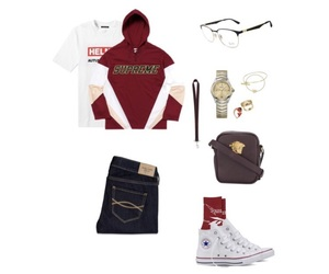 converse, ebel, and Versace image