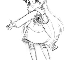 star, svtfoe, and star butterfly image