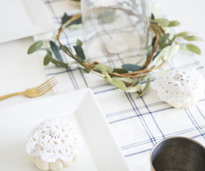 diy, tablescape, and friendsgiving image