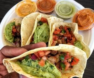 food, nourriture, and tacos image