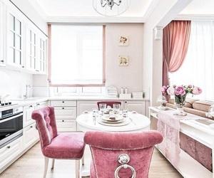 home, posh, and kitchen image