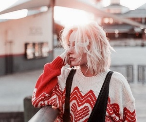 autumn, sweater weather, and hair goals image