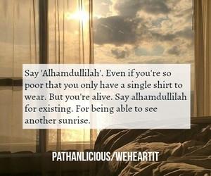 allah, grateful, and islam image
