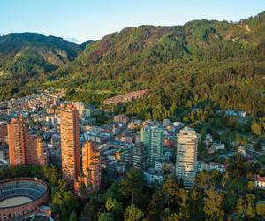 bogota, city, and cityscape image