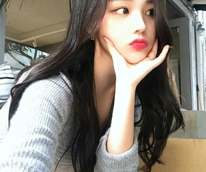 ulzzang girl, cute, and k-style image