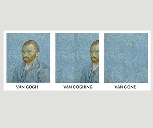van gogh, art, and header image