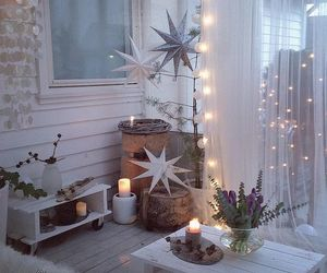 winter, cozy, and decoration image