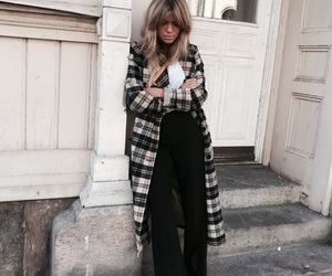 coat, indie, and trousers image