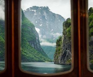 lake, landscape, and mountains image