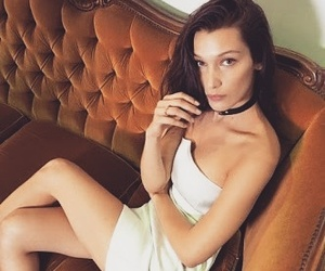 bella hadid and model image