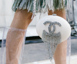 bag, shoes, and haute couture image