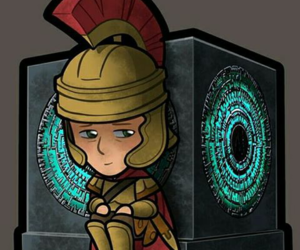 doctor who, the last centurion, and pandorica image
