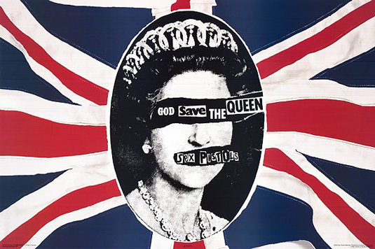 sex pistols, Queen, and god save the queen image