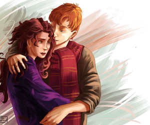 book, hermione, and hp image