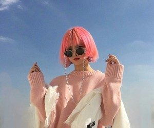 pink, aesthetic, and asian image