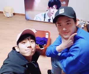 kdrama, lee jong suk, and jung hae in image