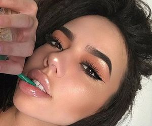 makeup, beauty, and tumblr image