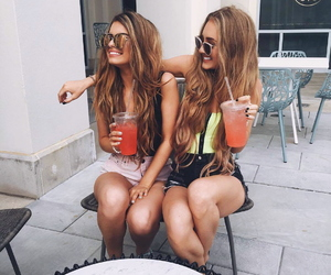 drinks, girls, and goals image