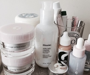 beauty, glossier, and aesthetic image