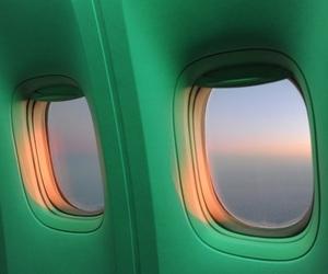 alternative, green, and plane image