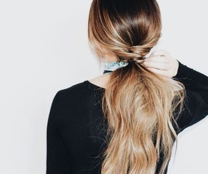 autum, fall, and hairstyle image
