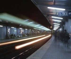 grunge, train, and alternative image