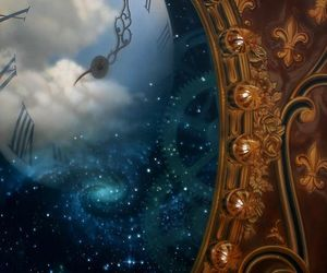 clock, time, and mirror image
