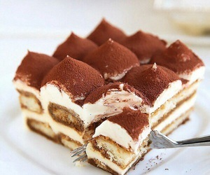 dessert, sweet, and cake image