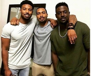 michael, lance gross, and omari hardwick image