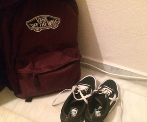 backpack, black, and old skool image