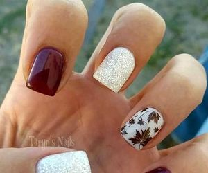 nails, thanksgiving, and thanksgivingnails image