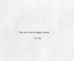 broken heart, deep, and quotes image