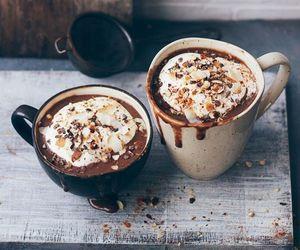 coffee, autumn, and chocolate image