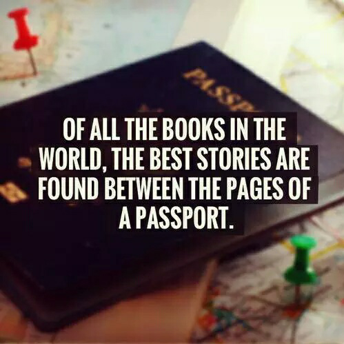 travel, passport, and book image