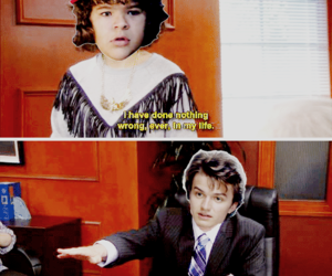funny, handsome, and stranger things image