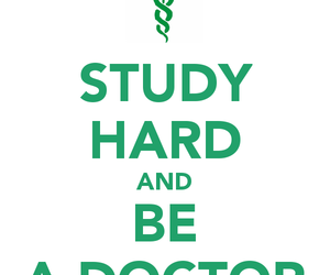 doctor, study, and medicine image