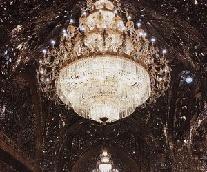 chandelier, light, and luxury image