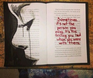 art, quotes, and book image