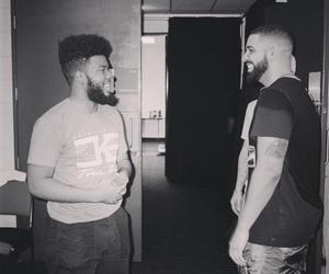 Drake, khalid, and champagne papi image