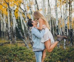 autumn, couples, and fall image