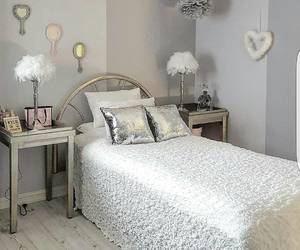 bedroom, grey, and house image