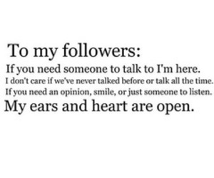 follow, followers, and love u image
