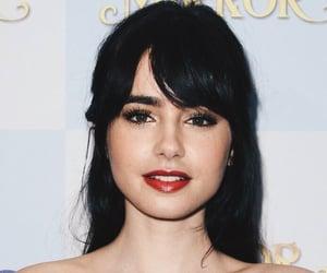 bangs, beauty, and black hair image