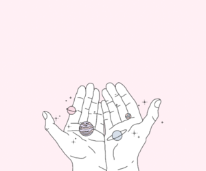 aesthetic, hands, and pastel image