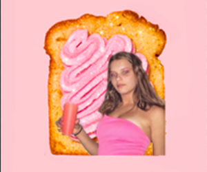 bread, lust, and pink image