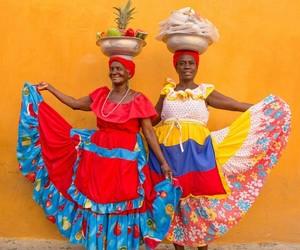 colombia, colors, and culture image