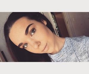 contour, makeup artist, and glitter eyeshadow image