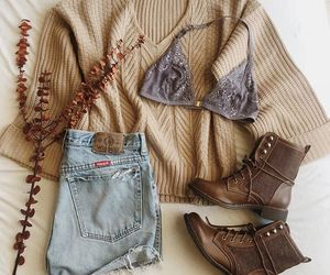 fall, fashion, and layout image