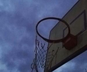 ball, basket, and Basketball image