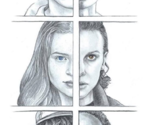 art, stranger things, and drawing image